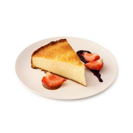 Brownie de chocolate blanco y toffee de jengibre